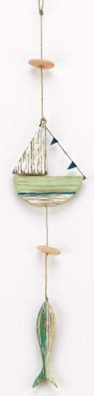 Archipelago Boat and Fish Hanger