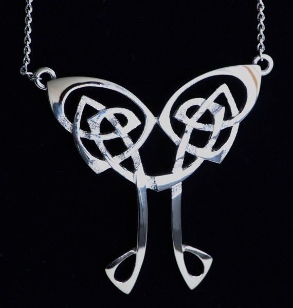 Celtic jewellery Celtic Nouveau Necklace
