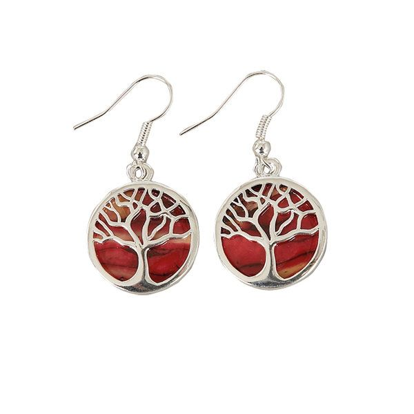 Heathergems Tree of Life Earrings HE89